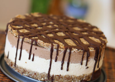 Girl Scout Cookie Ice Cream Cake